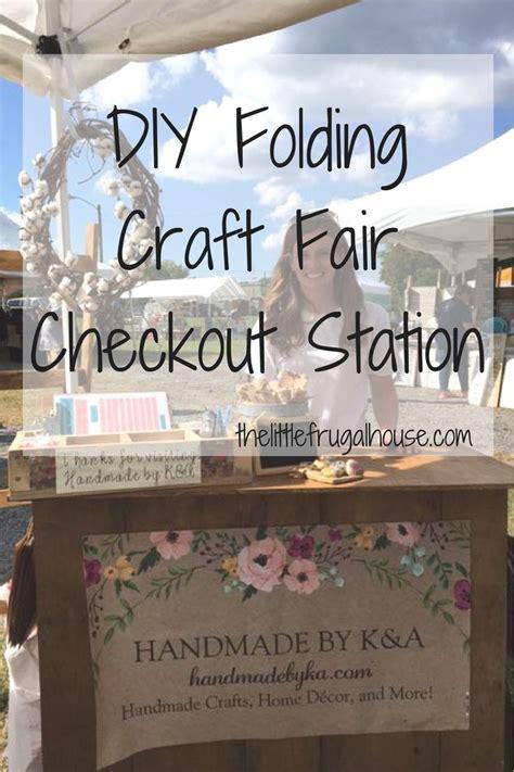 diy folding craft fair checkout stand craft show booths