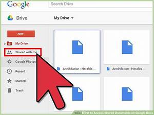 3 Ways To Access Shared Documents On Google Docs