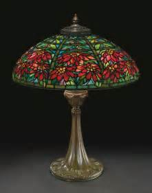 tiffany studios double poinset lighting sotheby s