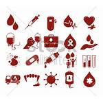 Blood Transfusion Icons Vector Graphic Stockunlimited Illustration