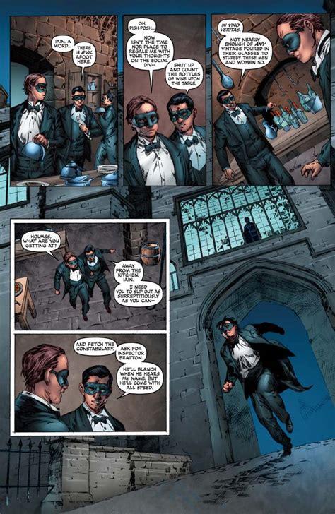 sherlock holmes omnibus vol comics preview