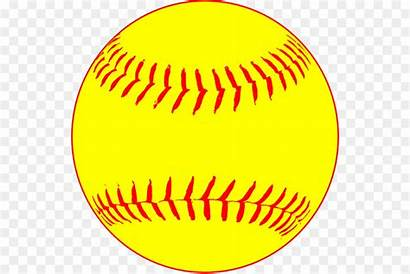 Clipart Softball Ball Base Baseball Cartoon Bats
