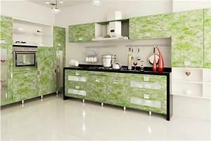 como envelopar armario para dar cara nova ao ambiente With kitchen cabinets lowes with papier peint argenté