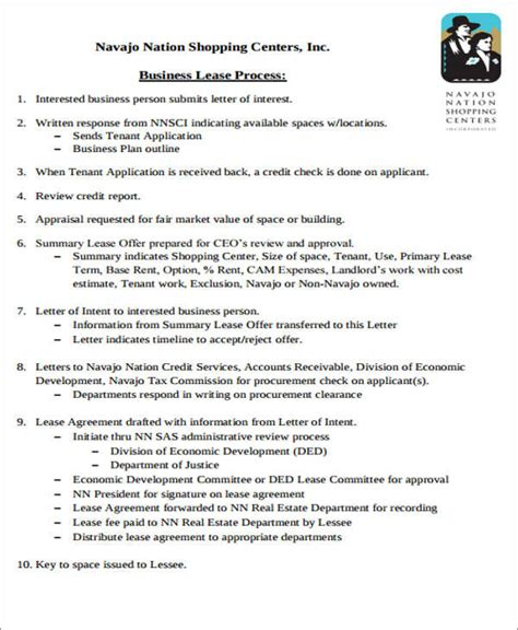 Apartment Lease Agreement Template Business Lease Transfer Letter Template 6 Free Word Pdf Format