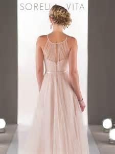 sorella vita bridesmaid sorella vita 8431 blush bridesmaid dress 229