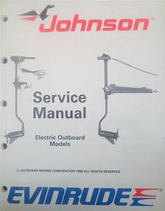 1989 Johnson Evinrude Electric Outboard Trolling Motor