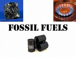 HUMAN FOSSIL FUEL USE Fossil Fuels and Our Carbon ...