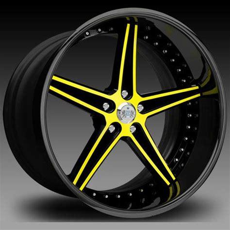 symbolic wheels rims cv     black yellow face