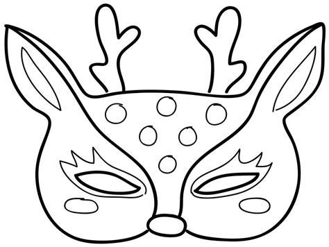 m 225 scaras de animales para imprimir carnaval animales