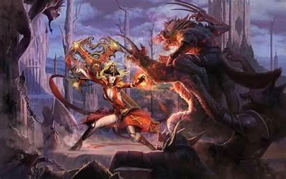 Forsaken Fantasy Wallpapers Battle Warrior Vampire Artwork
