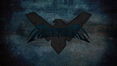 Nightwing Symbol Wallpapers Comics Dc Background Desktop