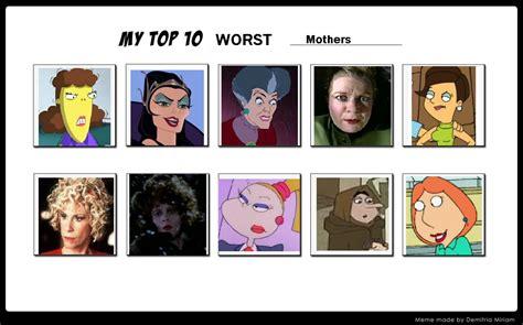My Top 10 Worst Mothers By Sithvampiremaster27 On Deviantart