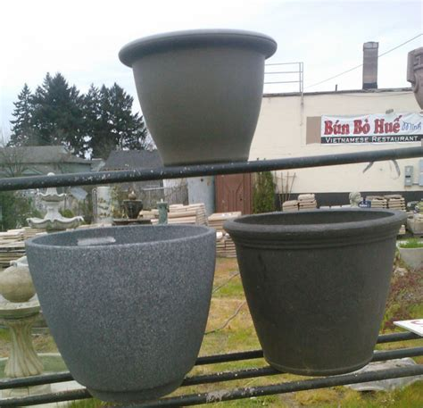 pots pottery and planters concrete decorative pots