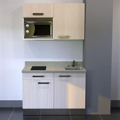 kitchenette k01 120cm avec emplacement frigo top