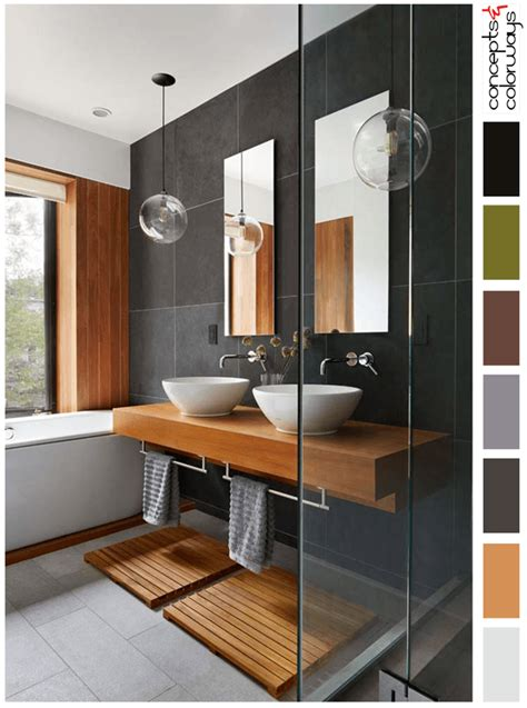 Modern Japanese Bathroom Vanity by Modern Japanese Style Bathroom Interior Paint Palettes