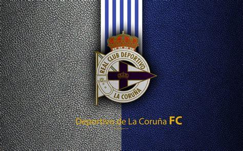 Download wallpapers Deportivo de La Coruna FC, 4K, Spanish ...