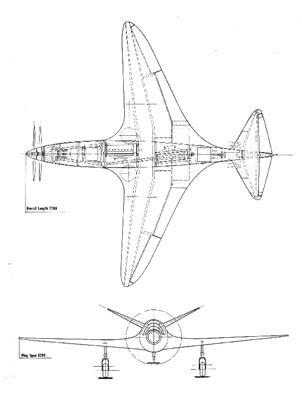 Evolution of french aviation, bugatti and aviation, louis de. Morlock : Les caractéristiques de l'avion Bugatti 100P et ...