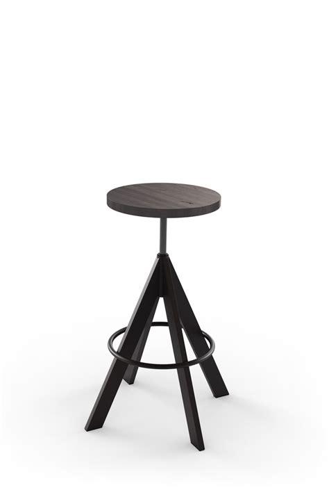 buy amiscos uplift distressed backless adjustable stool