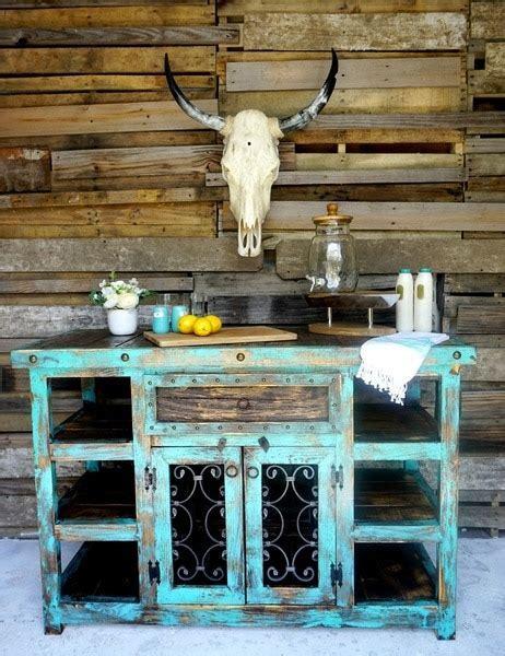 Indigo Rustic Island  Sofia's Rustic Furniture