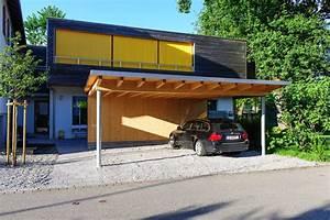 Carport Terrasse Kombination : carport anbau an garage finest anbau carport und mit satteldach with carport anbau an garage ~ Somuchworld.com Haus und Dekorationen