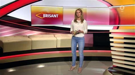 blue heels mareile höppner brisant hd 04 05 2016 white blouse