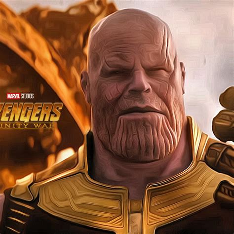 wallpaper thanos avengers infinity war hd movies