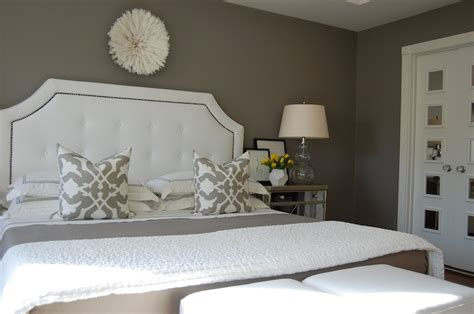 gray bedroom transitional bedroom benjamin