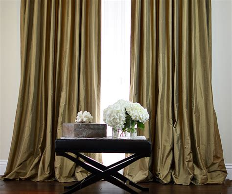 Silk Drapes - made custom silk drapes and blinds on sale
