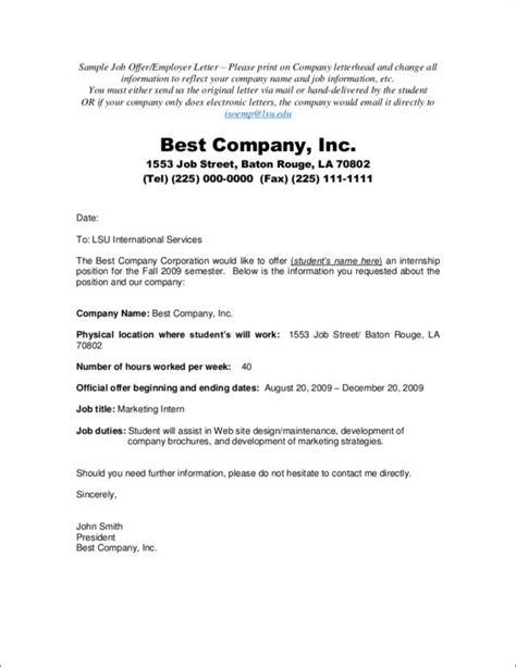 job offer letter sample offer acceptance letters tips and examples sample 22641 | Sample Job Offer Employer Letter