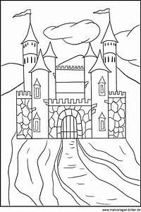 Ausmalbilder Schloss Kostenlos Malvorlagen Zum