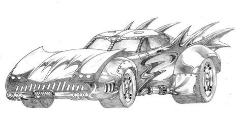 Kleurplaat Batmobiel by Batmobile Coloring Pages Batmobile By Famaulu On