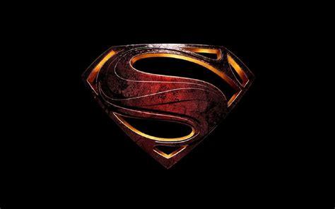 Man of Steel superman movie logo wallpaper 壁纸 and 背景 ...