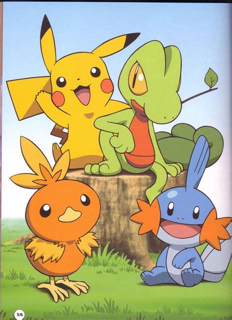 pikachu treecko torchic mudkip 193 lvaro