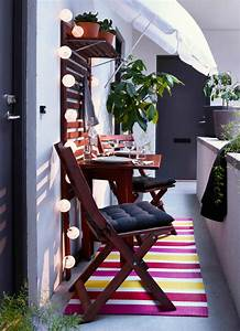 Table De Balcon Ikea : balcony chair and table design ideas for urban outdoors ~ Teatrodelosmanantiales.com Idées de Décoration