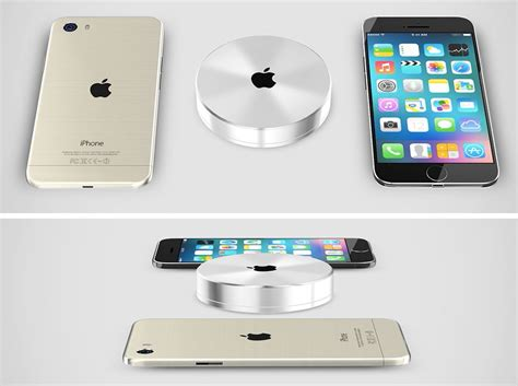 iphone 6 wireless charger iphone 6 pro rendered with wireless charging