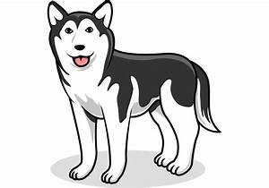 Siberian Husky Vector Dog - Download Free Vector Art ...