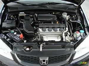 2004 Honda Civic Lx Coupe 1 7l Sohc 16v Vtec 4 Cylinder Engine Photo  63613867
