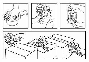 33 Packing Tape Dispenser How To Load Diagram