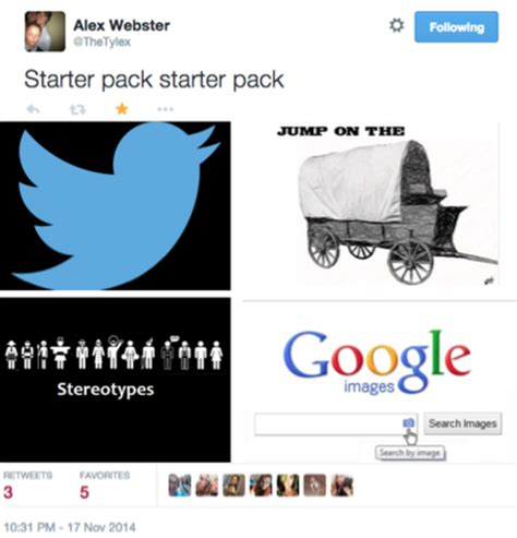 Starter Pack Memes - starter pack starter pack starter packs know your meme