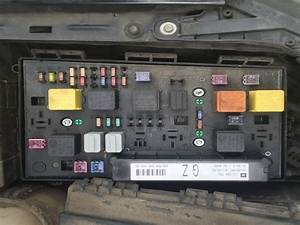 Astra Mk5  H   04-09  - Fuse Box Diagram For 54 Plate Astra Diesel