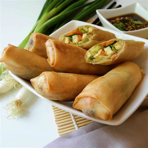rolls rolls vegetable egg rolls recipe dishmaps