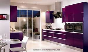 Mor mutfak dekorasyon dunyasi for Kitchen cabinet trends 2018 combined with gold butterfly wall art