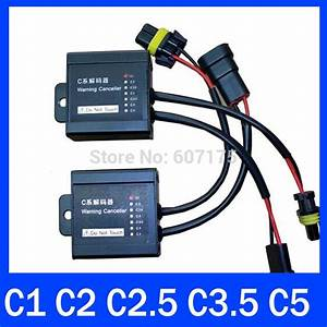 Hid Warning Canceller Capacitor  Canbus Wiring Harness  Hid Ballast Decode Device C1 C2 C2 5 C3 5