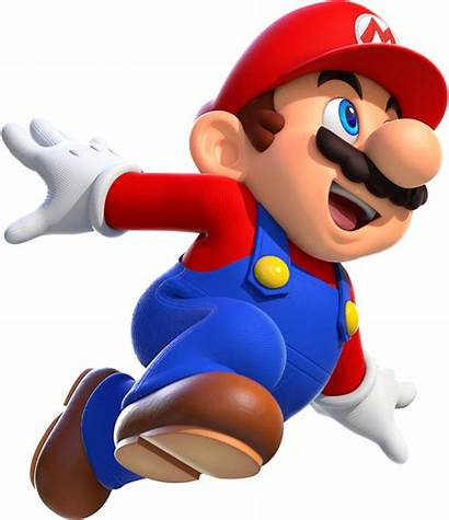 Mario Super Bros Behind Cool Forward Bringing