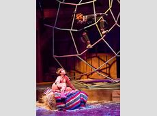 Theater Review One 'radiant' spider lights up CTM's