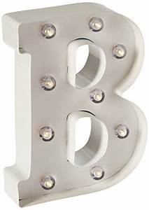 darice metal letter b marquee light up white bulbs With darice marquee letters white