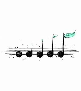 music notes plants | Tumblr
