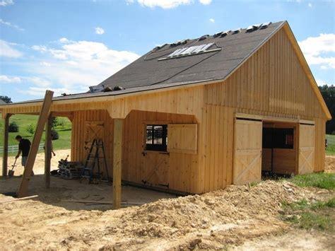 barn designs  living quarters barns