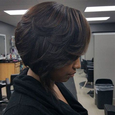 black female short haircut short simple hairstyles for