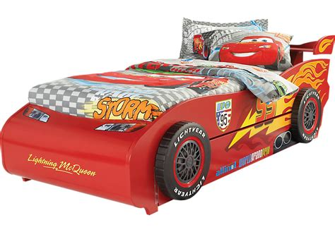 wall changing table disney cars lightning mcqueen 6 pc bed with